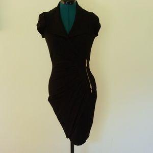 Ladies Cap-Sleeved Cocktail Dress